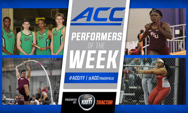 ACC Announces Season's Final ITF Performer of Week Awards