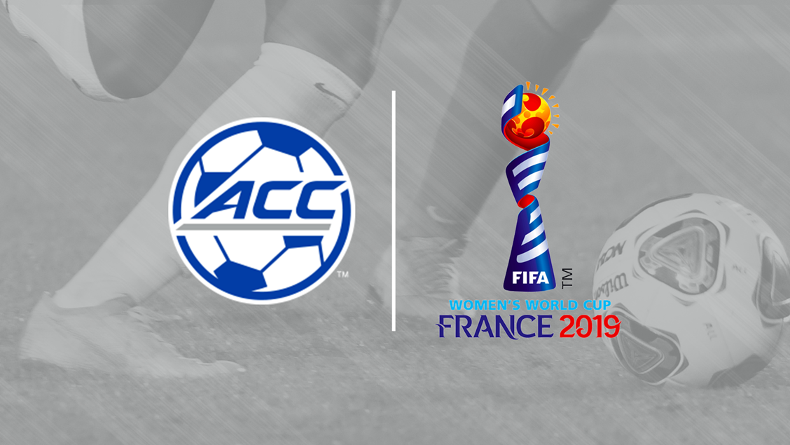 seventeen from acc soccer to compete in 2019 fifa women s world cup