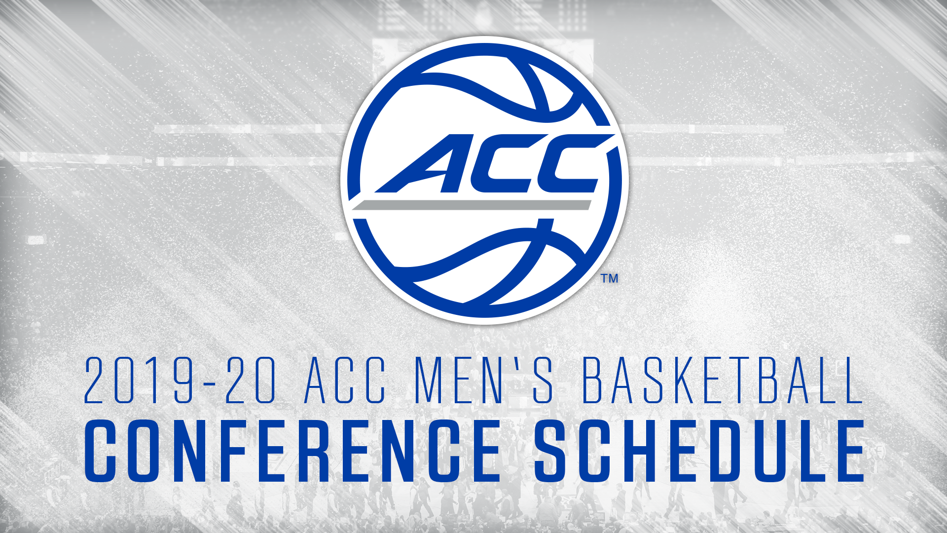 picture about Printable Acc Men's Basketball Schedule titled ACC Announces 2018-19 Mens Basketball Meeting Online games