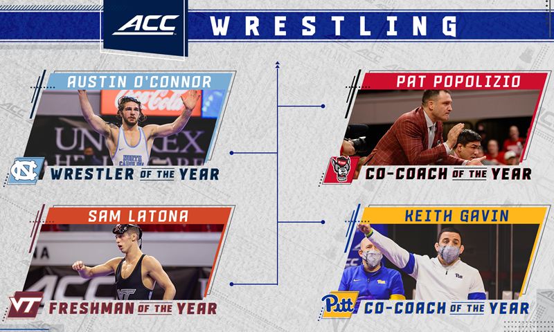 Austin O'Connor Named ACC Wrestler Of The Year