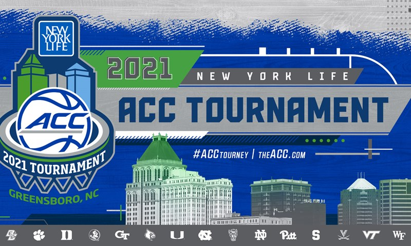 Bracket Set for 2021 New York Life ACC Tournament - The ACC
