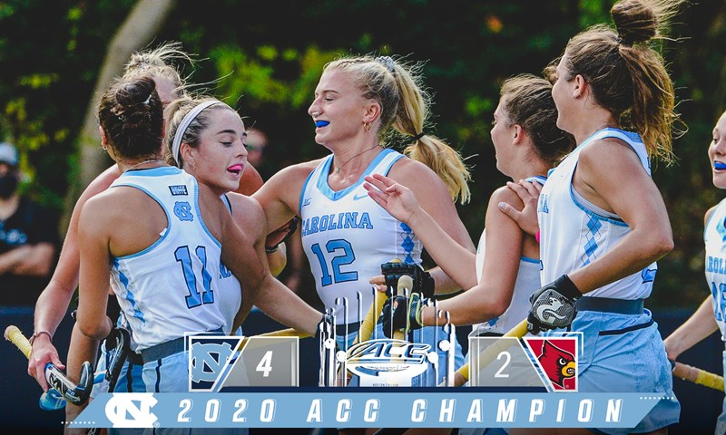 UNC Rallies Past Louisville for Fourth Straight ACC Field Hockey Championship